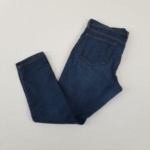 Old Navy The Flirt Dark Wash Skinny Jeans Sz 12